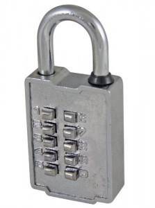 Ultra Hardware push button lock from Amazon